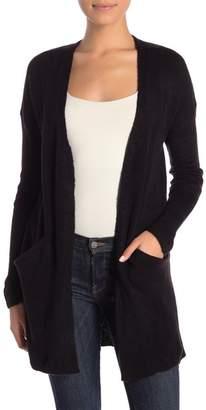 Catherine Malandrino Long Sleeve Open Front Cardigan (Petite)