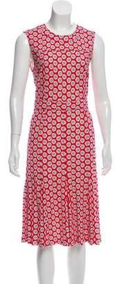 Tory Burch Floral A-Line Dress