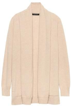 Banana Republic Cashmere Open Long Cardigan Sweater