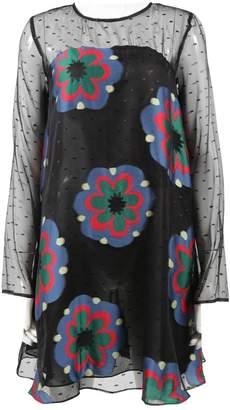 Suno Black Silk Dress for Women