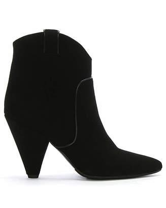 Daniel Footwear Daniel Ideal Suede Western Ankle Boots