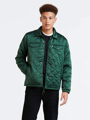 Levi's Quilted Coach's Trucker Jacket