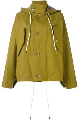 Marni oversized hooded jacket