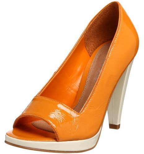 Cindy Says Women's Audrey Peep Toe Pump