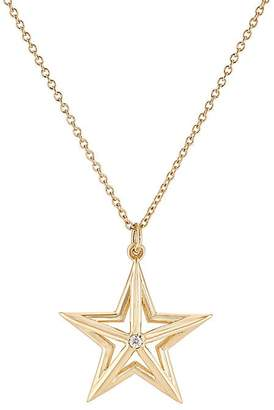 Dean Harris Men's Small Star Pendant Necklace