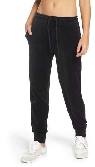Jodi Velour Jogger Pants