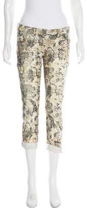 Isabel Marant Printed Low-Rise Pants