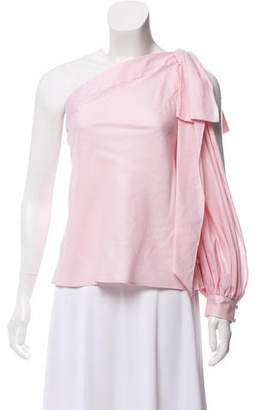 Milly Ballet One-Shoulder Top w/ Tags