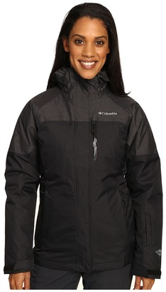 Columbia - In Bounds 650 TurboDown Interchange Jacket Women's Coat $275 thestylecure.com