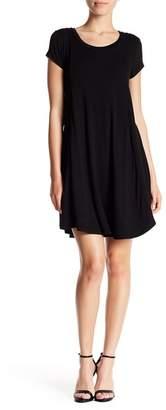Bobeau A-Line Knit Dress (Petite)