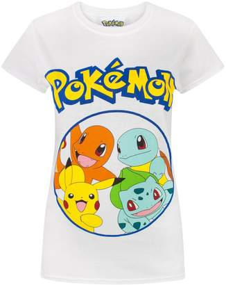 Pokemon Kanto Starters Women's T-Shirt (M)
