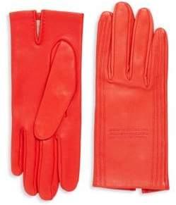 Vintage Red Lambskin Gloves