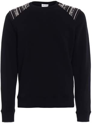 Saint Laurent Ikat Jersey Sweatshirt