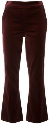 Frame cropped flared trousers