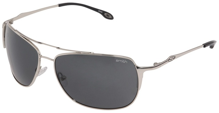 Smith Optics - Rosewood Polarized (Silver/Gray Polarized Lens) - Eyewear