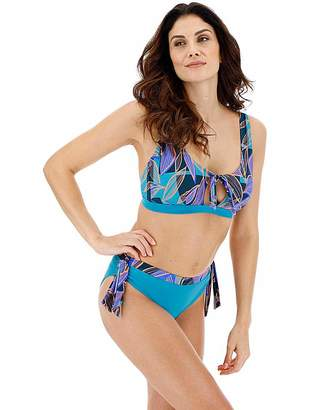 0d148cd69c1 Simply Be Tie Front Detail Bikini Set