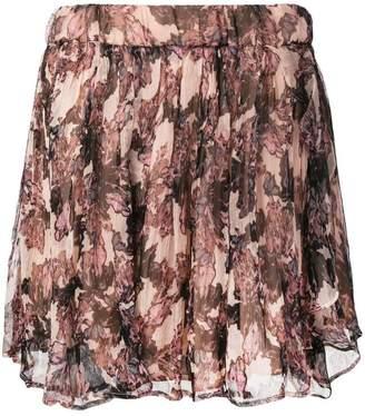 IRO floral mini skirt
