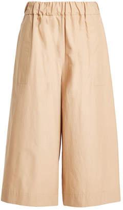 Sea 3/4 Length Cotton Pants