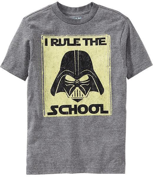 "Star Wars Boys Star Wars™ ""I Rule the School"" Tees"