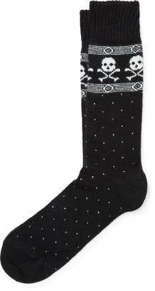 Ralph Lauren Skull Cotton-Blend Socks