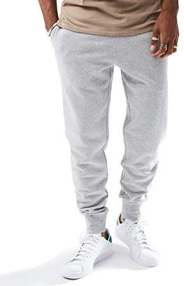 Rebel Canyon Young Men's Slim Fit Heather Fleece Basic Jogger Sweatpant