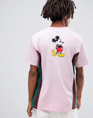 Asos DESIGN Mickey relaxed t-shirt with contrast side panels