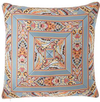 "Austin Horn Classics Rowen Mitered Stripe Pillow, 20""Sq."