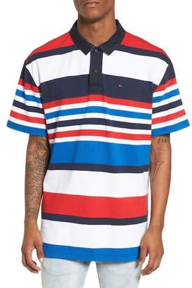Tommy Jeans Stripe Rugby Polo