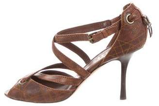 Christian Dior Cannage Leather Pumps