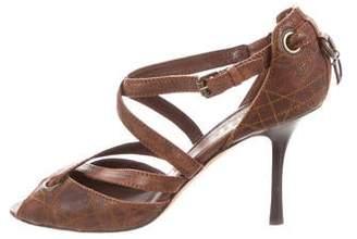 3560826c40b145 Christian Dior Cannage Leather Pumps