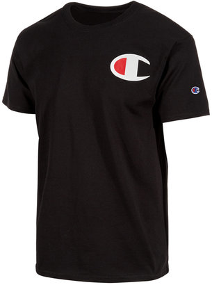Champion Men's Logo T-Shirt $20 thestylecure.com
