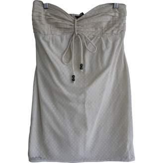Sarah Wayne Ecru Cotton Dress for Women