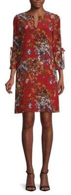 Lafayette 148 New York Deandra Silk Shift Dress