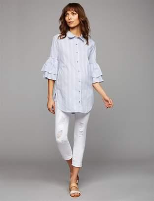 Luxe Essentials Denim Secret Fit Belly Kate Girlfriend Maternity Jeans