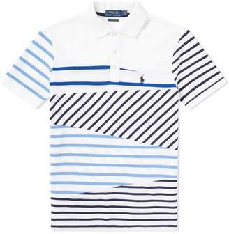 Polo Ralph Lauren Cut & Sew Stripe Polo