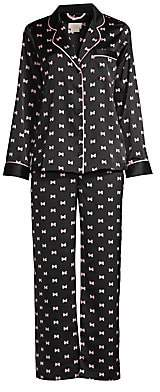 Kate Spade Women's Evergreen 2-Piece Long Pajama Set