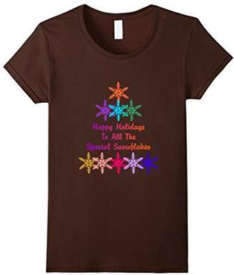Happy Holidays Special Snowflakes T-Shirt