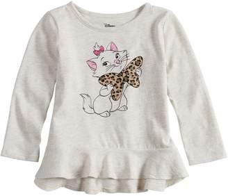 Princess Girls Disneyjumping Beans Disney's Aristocats Marie Toddler Girl Peplum-Hem Tee by Jumping Beans