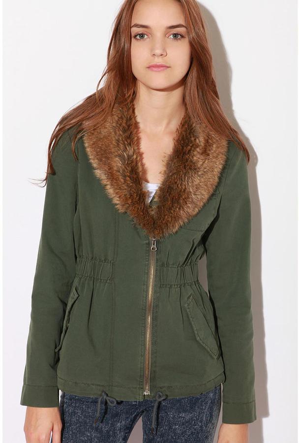 Ecote Shawl Collar Surplus Jacket