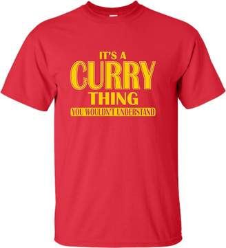 Go All Out Screenprinting Youth It's A Curry Thing You Wouldn't Understand T-Shirt