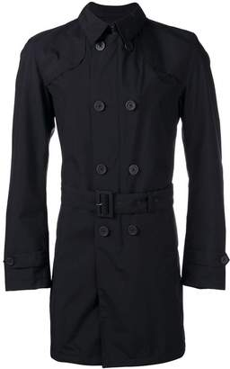 Herno slim-fit trench coat