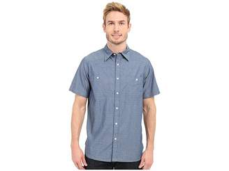 Mountain Khakis Ace Indigo Short Sleeve Shirt Men's Clothing