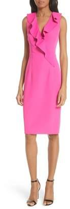 Milly Italian Cady Luna Sheath Dress