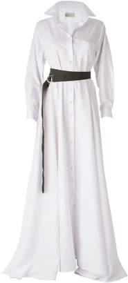 DANEH White Maxi Dress