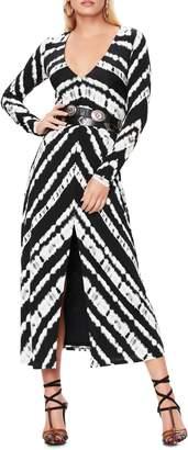 AFRM Zoey Animal Print Long Sleeve Dress