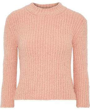 By Malene Birger Olla Ribbed Boucle-knit Sweater