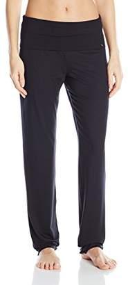 Hanro Women's Yoga Sports Trousers, (Black 0019), L (Size: L)