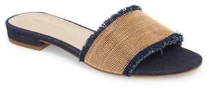 Pelle Moda Bayer Embellished Slide Sandal