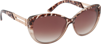 Women's RocaWear R3190 Animal Print Cat Eye Sunglasses $44.95 thestylecure.com