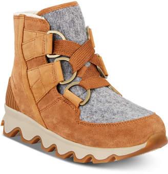 Sorel Women Kinetic Short Lace Waterproof Boots Women Shoes